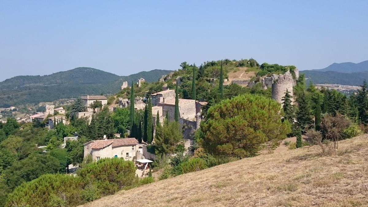 Mirabel and hillside villages