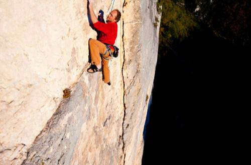 Rock climbing sites- Omblèze