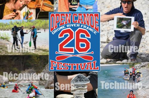 L'Open Canoë Festival : 30 Avril - 3 Mai 2020