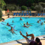 Animation Aquafun dans la piscine