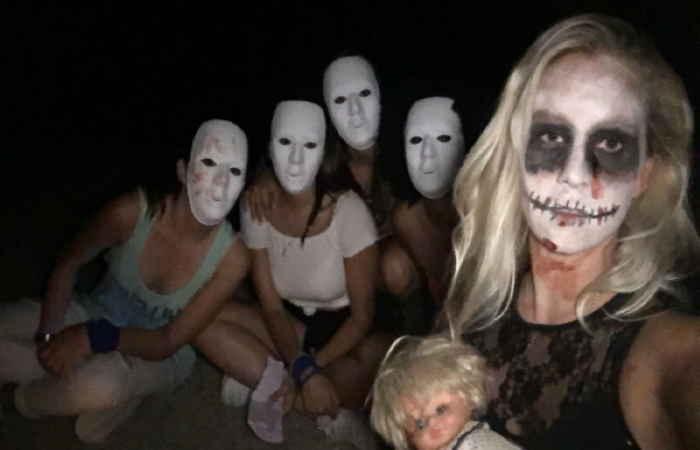 Teenagerunterhaltung : Horrorabend!
