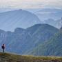 Wandern auf dem Couspeau Berg