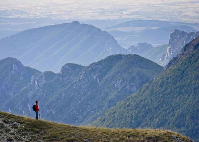Wandelen op de Couspeau berg