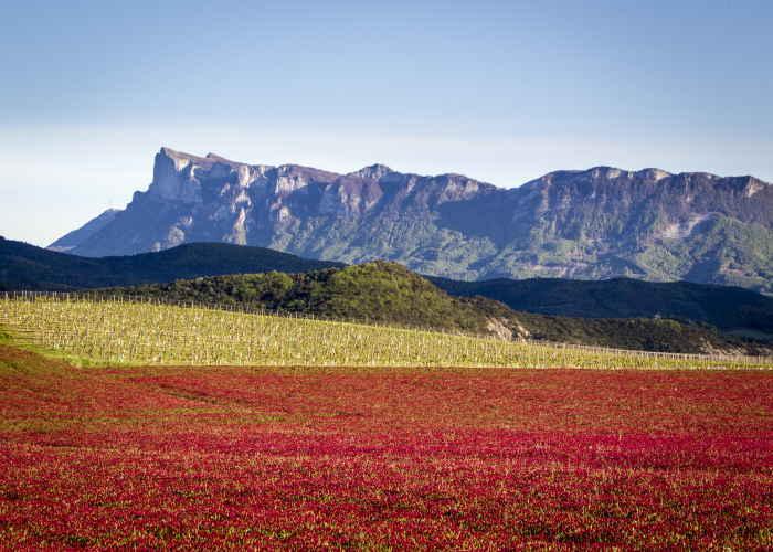 Drôme Landschaft