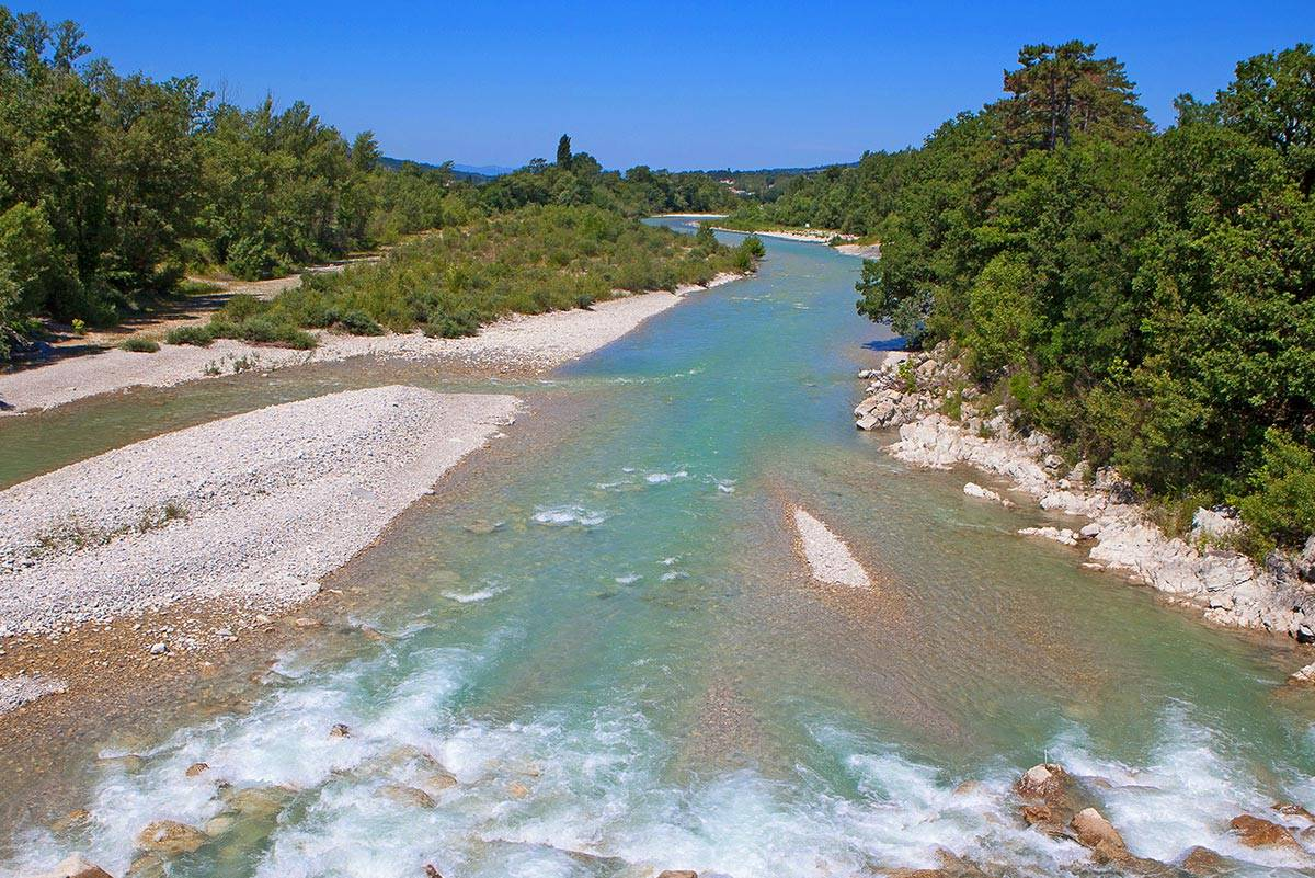 Drôme : wild and beautiful river