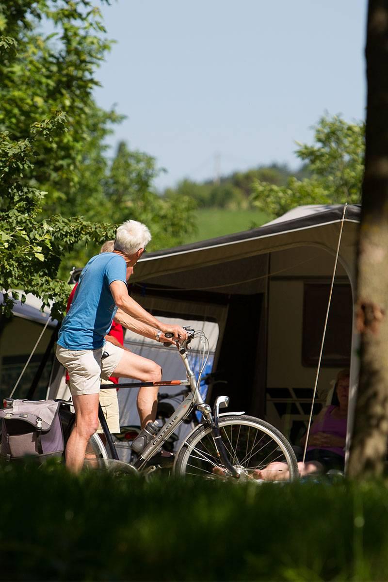 Radfahren im Drôme-Tal